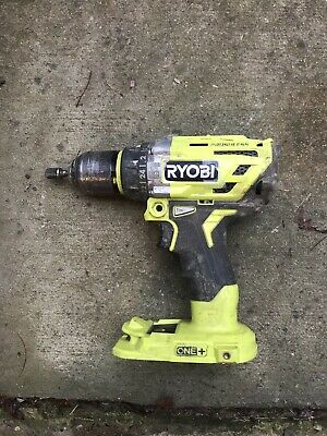 Ryobi P251 One+ 18V Lithium Ion Brushless Hammer Drill Driver (Tool only)