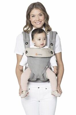 Ergobaby 360 Four Position Carrier Grey (RRP $279)