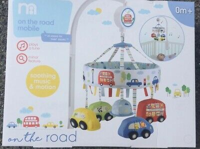 Mothercare On The Road Musical Cot Mobile, Brand New In Box Free Postage 🚗
