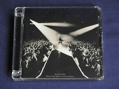 Depeche Mode Touring the Angel 4th May 2006 Foro Sol Stadium, Mexico - Mint 2 CD