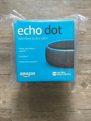 Amazon - Echo Dot (3rd Gen) - Smart Speaker with Alexa - Charcoal