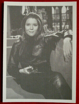 THE AVENGERS - Card #76 - LETHAL IN LEATHER - Cornerstone 1992 - Diana Rigg