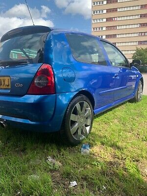 Renault Clio 182 cup pack not 172 FSH Cambelt done 1 lady owner