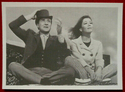 THE AVENGERS - Card #78 - EXEUNT... FLYING? - Cornerstone 1992 - Diana Rigg