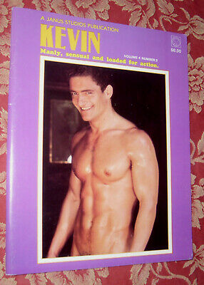 "Gay Vintage Magazin  "" Kevin ""  70Ties  Top Zustand !"