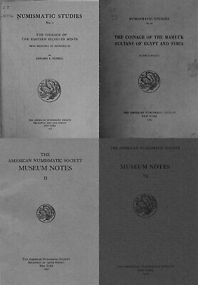 Numismatic studies and Museum Notes 1938-1969, Vol. 26 (11+16) on DVD