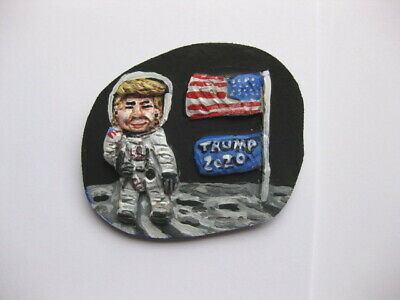 President Donald Trump on the Moon 2020 Presidential Campaign Pin