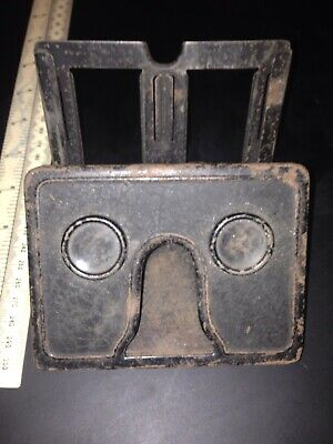 Vintage Tin Plate Stereotype Viewer