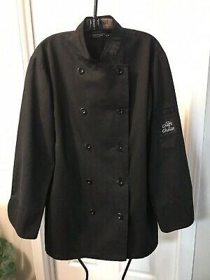 Chefs Choice SMALL Black Chefs Jacket Pre-OWNED  QTY 5 in SET
