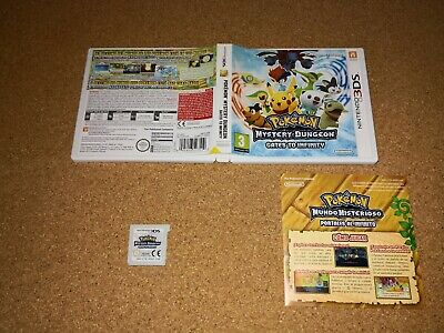 Pokemon Mystery Dungeon Gates To Infinity Nintendo  3Ds 2Ds