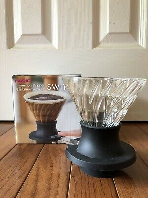 Hario Coffee Immersion Dripper Switch For 1-4 Cups SSD-200-B Made In Japan
