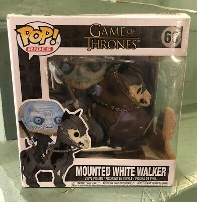 Game of Thrones Mounted White Walker Funko Pop 60 Brand New Light Box Wear