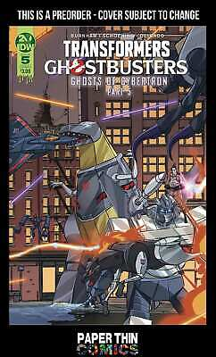 Transformers Ghostbusters #5 (Of 5) Cvr A Schoening Preorder Wk42 Oct 16 2019