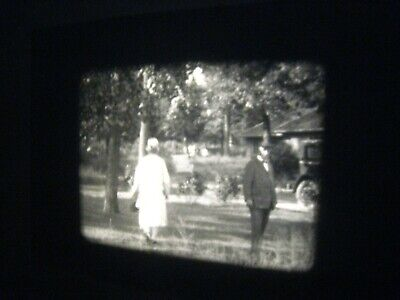16mm Silent Home Movie..July 1929 New York,Beach,Cars,etc.