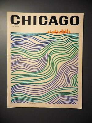 1964 Chicago Magazine Charter Issue #1