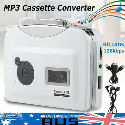 Tape to PC USB Cassette to MP3 Converter Capture Audio Portable Music Player Kit