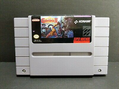Super Castlevania IV 4 SNES Super Nintendo *Cartridge ONLY* Authentic Tested