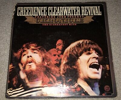 Creedence Clearwater Revival Chronicle Greatest Hits LP CCR VG+ Vinyl G+ Cover