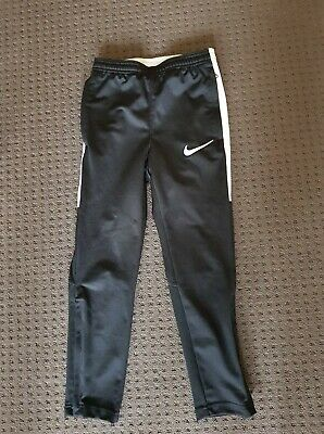 Nike boys extra small black and white track pants suit slim build 4-6 years