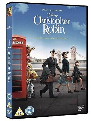 Christopher Robin [DVD] NEW Sealed