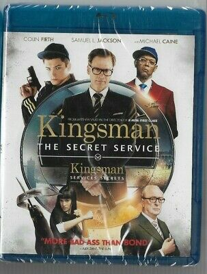 Sealed New Blu-Ray Disc - KINGSMAN THE SECRET SERVICE  Also In French