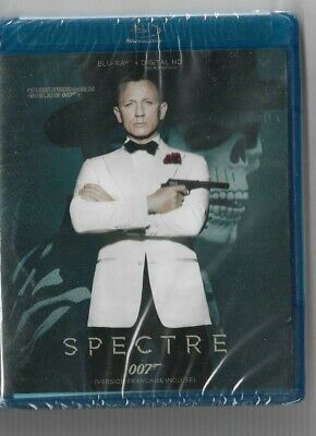 Sealed New Blu-Ray Disc - JAMES BOND 007 - SPECTRE - Also In French