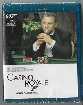 Sealed New Blu-Ray Disc - JAMES BOND 007 - CASINO ROYALE  - Also In French