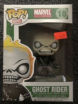 Ghost Rider Funko Pop Marvel 18 Vaulted Read Description