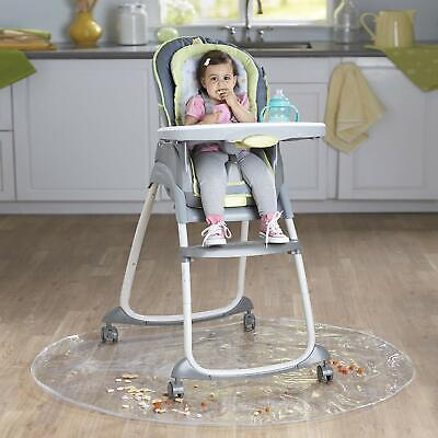 50 Inch Baby High Chair Infant Toddler Feeding Floor Mat Baby Plastic Play Mat
