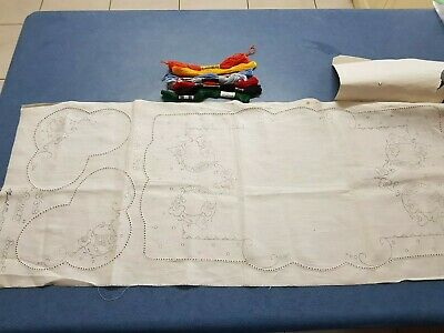 Vintage 3 Piece Semco Boudoir Set  S/318 Plus Cottons.