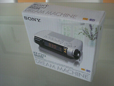 Sony Dream Machine Model ICF-C253 AM/FM Digital Alarm Clock Radio - New in box