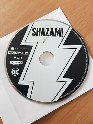 Shazam! - 4K Ultra HD ** DISC ONLY**- Brand New