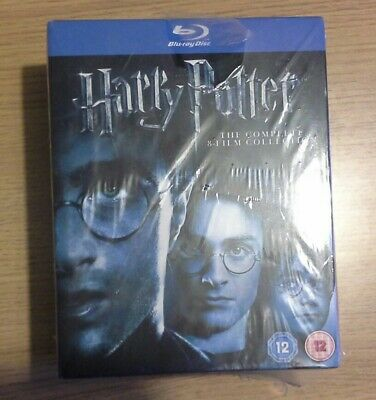 Harry Potter Collection - Years 1-7B (Blu-ray, 2011, 11-Disc Set, Box Set)