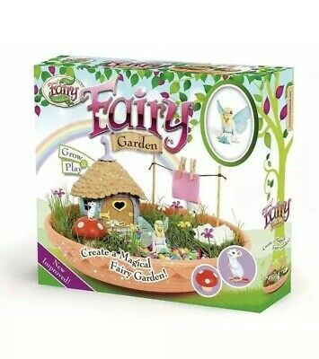 My Fairy Garden Grow Your Own Miniature Magical Fairy Garden Kit Kids Toy Ideas