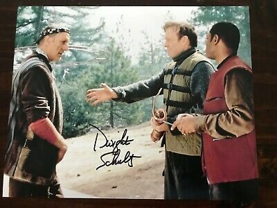 Star Trek First Contact autographed photo Dwight Schultz (Reginald Barclay)