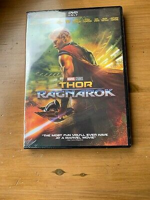 Thor Ragnarok DVD. Sealed with free delivery.