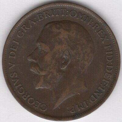 1911 George V One Penny | British Coins | Pennies2Pounds