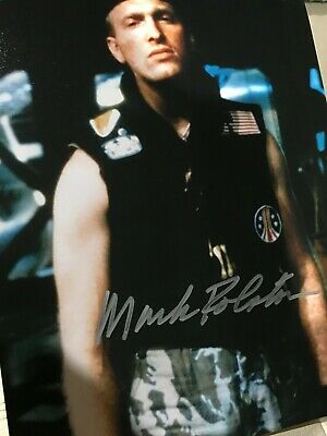 Aliens autographed photo Mark Rolston (Private Mark Drake)