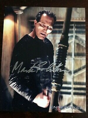 Star Trek Enterprise autographed photo Mark Rolston (Kuroda)