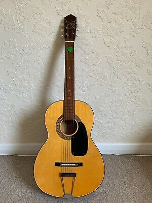 G101 Vintage Acoustic Parlour Guitar probably late 60's or 70's Made in Korea