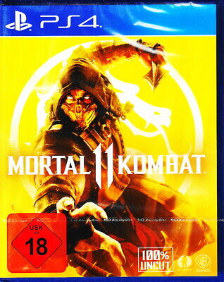 Mortal Kombat 11 - Playstation4 / PS4 - 100% UNCUT - Neu & OVP