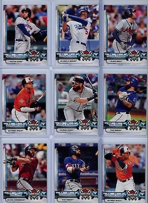 2018 Topps -  #HRC - Home Run Challenge  (Un-used Codes) - Pick Player From List