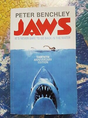 Jaws  Peter Benchley Paperback classic novel great white shark
