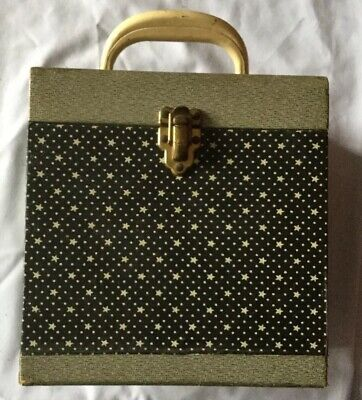"""Rare 1960s vintage 7 """" inch Winel record Carrying case,Cheney England- Retro"""