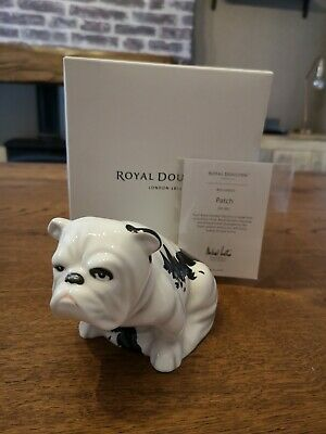 Royal Doulton Bulldog Patch From Skyfall Collection Extremely Rare