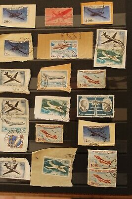FRANCE POSTE AERIENNE Lot 20 timbres