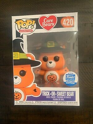 Funko POP! Animation Care Bears Trick-or-Sweet Bear (Funko Shop) DECENT BOX