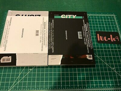 EXO BAEKHYUN 1st Solo Album City Lights + Folded Poster + Photocard KPOP