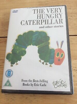 The Very Hungry Caterpillar And Other Stories DVD 2006 Eric Carme New & Sealed