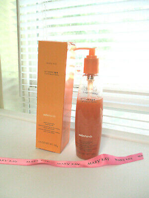 MARY KAY ~  Satin Hands  Private Spa Satin Smoothie Hand Scrub pump bottle ~ NEW